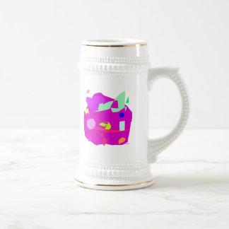 Planet 18 Oz Beer Stein