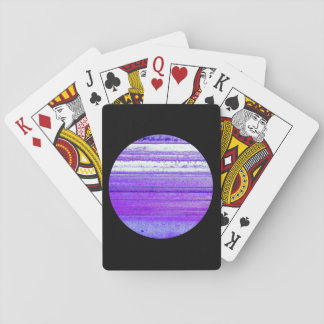 Planet Agate Playing Cards