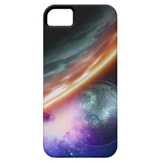 Planet and its moon. Computer artwork of an iPhone 5 Cases