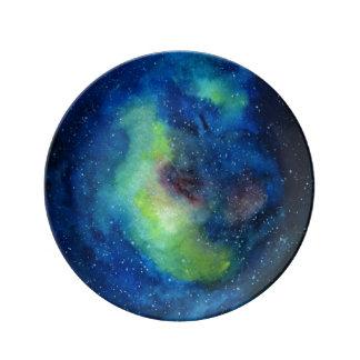 Planet Art 21.6 cm Decorative Porcelain Plate