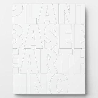 PLANET BASED EARTHLING PLAQUE