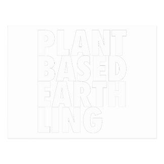 PLANET BASED EARTHLING POSTCARD