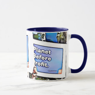 Planet Before Profit March for Science Coffee Mug