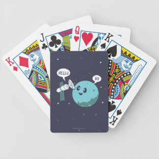 Planet Bicycle Playing Cards