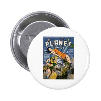 Planet Comics 2 Inch Round Button