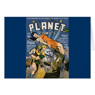 Planet Comics Card