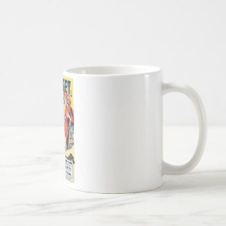 Planet Comics Classic White Coffee Mug