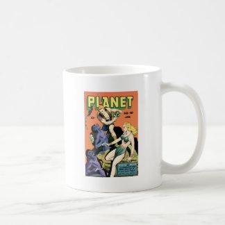 Planet Comics Classic White Coffee Mug