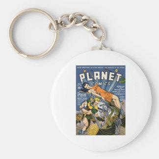 Planet Comics Key Chains