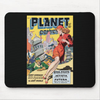 Planet Comics Mouse Pad
