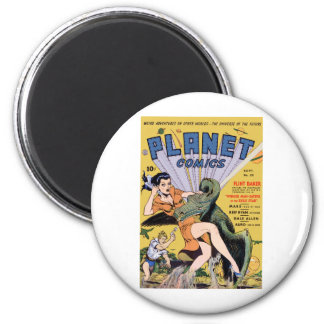 Planet Comics No 20 2 Inch Round Magnet