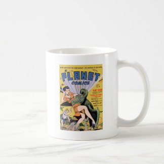 Planet Comics No 20 Classic White Coffee Mug