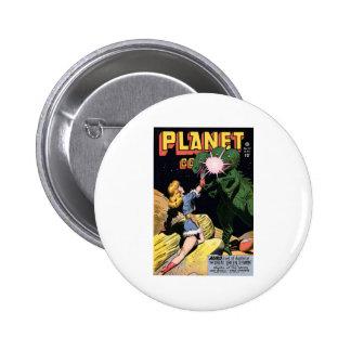 Planet Comics No 47 2 Inch Round Button
