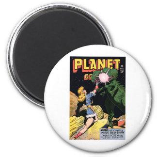 Planet Comics No 47 2 Inch Round Magnet