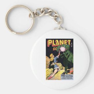 Planet Comics No 47 Basic Round Button Keychain