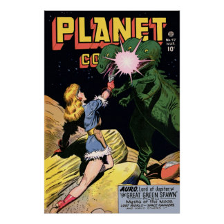 Planet Comics No 47 Poster