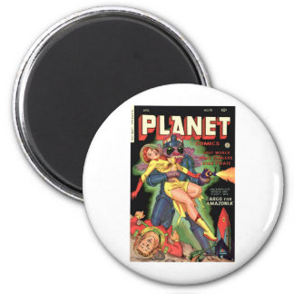 Planet Comics No 70 2 Inch Round Magnet