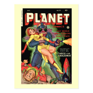 Planet Comics No 70 Postcard
