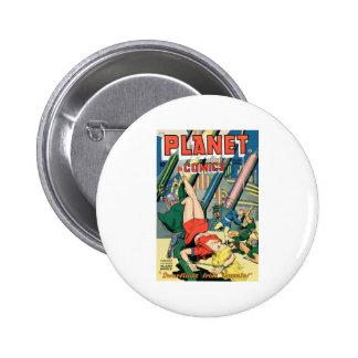 Planet Comics Pin