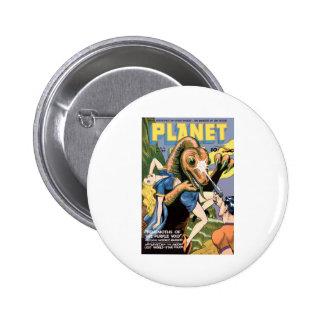 Planet Comics Pinback Buttons