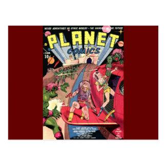 Planet Comics Postcard