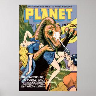 Planet Comics Posters