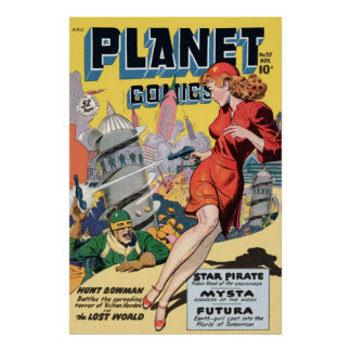 Planet Comics Print