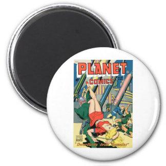 Planet Comics Refrigerator Magnet