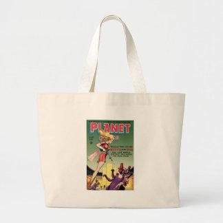 Planet Comics Tote Bags