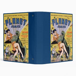 Planet Comics Vinyl Binder