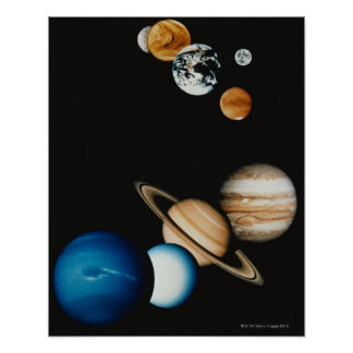 Planet Composition Poster