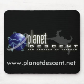 Planet Descent Mousepad