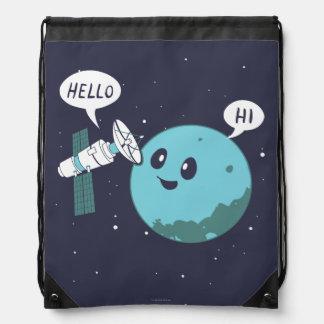 Planet Drawstring Bag