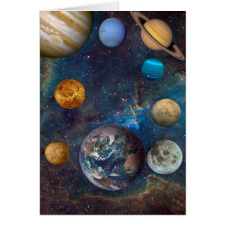 Planet Dreams of the Cosmos -1 Card