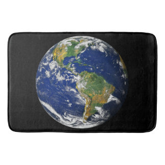 Planet Earth Bath Mat