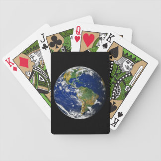 Planet Earth Bicycle Playing Cards