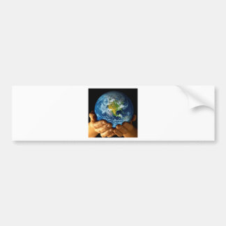 Planet  earth bumper sticker