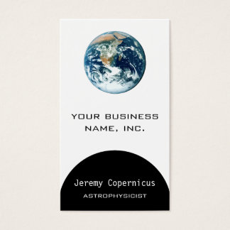 Planet Earth Business Card