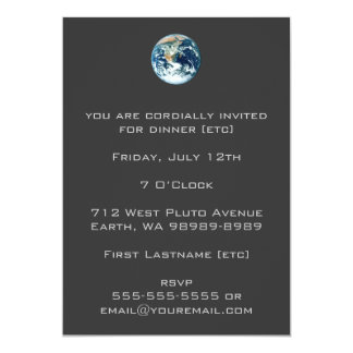 Planet Earth Card