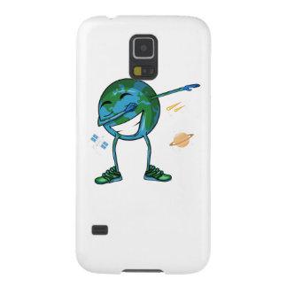 Planet Earth Dabbing Galaxy S5 Case