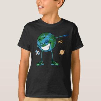 Planet Earth Dabbing T-Shirt