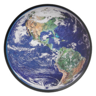 Planet Earth Dinner Party Plate
