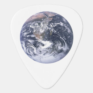 Planet Earth From Space Earth Day Guitar Pick