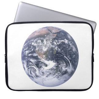 Planet Earth From Space Earth Day Laptop Sleeve