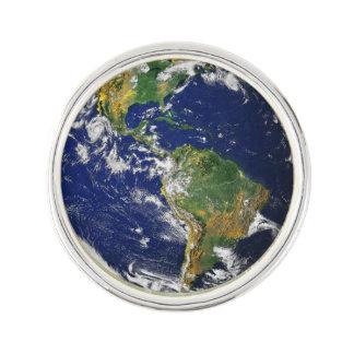 Planet Earth Lapel Pin