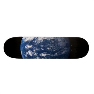Planet Earth Looking At The Pacific Ocean Custom Skateboard