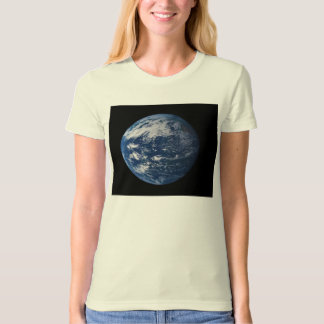 Planet Earth Looking At The Pacific Ocean T-Shirt