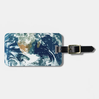 Planet Earth Luggage Tag