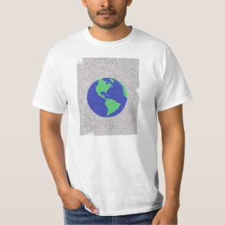 Planet Earth Maze T-Shirt