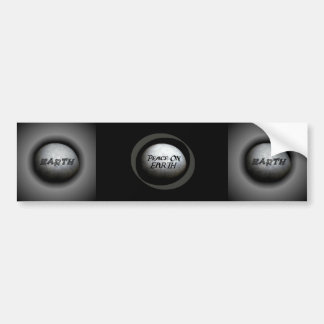 Planet Earth Model Bumper Sticker
